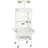 Prevue Pet Products - Signature Series Select Wrought Iron Cage - White - 18 X 18 X 57 Inch