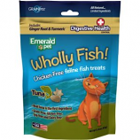 Emerald Pet Products - Wholly Fish Chicken - Free Cat Treats - Tuna Dh - 3 Ounce