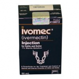 Merial - Ivomec Parasiticide Injection For Swine & Cattle - 50 Milliliter