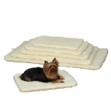 Slumber Pet -  Double Sided Sherpa Mat - Small - Natural