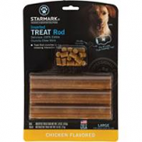 Starmark Pet Products - Treat Rod Refill For Treat Crunching Toys - Chicken - Large