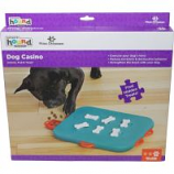 Petstages -Dog Casino Puzzle Dogs Need A Challenge Level 3 - Turquoise