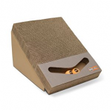 K&H Pet Products - Creative Kitty Scratch Ramp And Track - Brown - 15X12X10