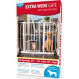 Carlson Pet Products - Extra Wide Walk-Through Gate W/Door
