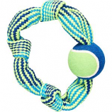 Ethical Dog - Colorful Rope Knot Ring