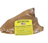 Best Buy Bones - USA Not-Pig Ear All Natural Non-Greasy Chew Treat - Pork - Large