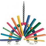 A&E Cage Company - Happy Beaks Over The Rainbow Bird Toy - Large