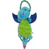 Charming Pet Products - Magic Mats Dragon Dog Toy - Blue - XLarge/17 Inch