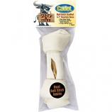 Ims Trading Corporation - Cadet Hide-A-Bull Bull Stick Stuffed Rawhide Bone