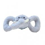 Jolly Pets - Tug-A-Mals Elephant - Grey - Small