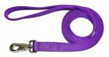 "Leather Brothers - 1"" X 6' Bravo Train Lead - J-Snap - Purple"