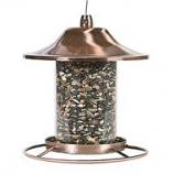 Woodstream Wildbird - Copper Panorama Bird Feeder - Copper Finish - 2 Pound