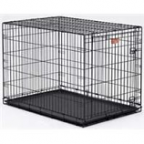 Midwest Container - I-Crate Single Door - Black - 48 Inch / Single