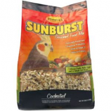 Higgins Premium Pet Foods - Sunburst Gourmet Blend For Cockatiel - 25Lb
