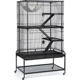 Prevue Pet Products - Deluxe Critter Cage - Black - 37X23X64 Inch