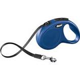 Flexi North America - Clasic Medium Tape Retractable Leash - Blue - 16 Ft