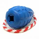 SodaPup - USA-K9 Grenade Reward Toy - Medium - Blue