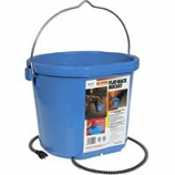 Allied Precision - Heated Flatback Bucket - Blue - 5 Gallon