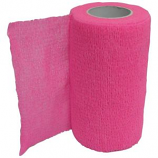 Animal Supplies International - Wrap-It-Up Flex Bandage - Hot Pink - 4 Inch x 5 Yard