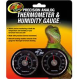 Zoo Med - Dual Thermometer / Humidity Gauge
