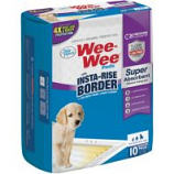Four Paws - Container -Wee-Wee Insta-Rise Border Pad - 10 Pack