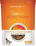 Manna Pro - Fruitables Skinny Minis Soft Chew Dog Treat - Pumpkin/Mango - 5 oz