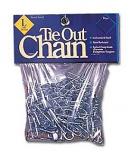 Leather Brothers - 10' X 2.0mm Tie-Out Chain - Light weight