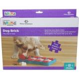 Petstages -Dog Brick Puzzle Stimulate Mind & Senses Level 2 - Blue