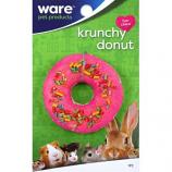 Ware - Bird/Sm An -Critter Ware Krunchy Donut -Assorted