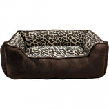 Ethical Fashion - Seasonal - Sleep Zone Cheetah Step In Bed - Cheetah - 31 Inch