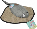 Snugarooz - Snugz Sally The Stingray W/Rubber Spikey Ball - Grey - 21 Inch