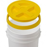 Gamma2 - Gamma Seal Lid - Yellow - 5 Gallon/12 Inc