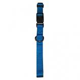 "Leather Brothers - 3/8"" Kwik Klip Adjustable Collar - 7-10"" Length - Hurricane Blue"