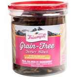 Triumph Pet Industries - Triumph Grain Free Jerky Bites - Salmon&Swtpot - 20 Ounce