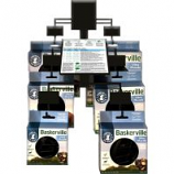 The Company Of Animals -Baskerville Ultra Moldable Muzzle Wall Display - Gray - 12 Piece