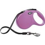 Flexi North America - Classic Medium Tape Retractable Leash - Pink - Medium 55 Lb