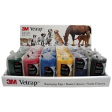 3M -Vetrap Bandaging Tape Display - Assorted - 24 Piece