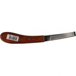Partrade - Wide Single Blade Hoof Knife - Left Handed - 8 Inch