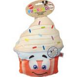 Ethical Dog -Fun Food Jumbo Yogurt Plush Toy - Assorted - 11 Inch