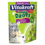 Vitakraft Pet Products - Dandelion Drops - Chinchilla - Dandelion - 5.3  oz