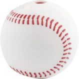 Planet Dog -Usa Baseball Orbee Tuff Dog Toy - White - 3 Inch