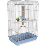 Ware - Bird/Sm An -Bird Central Parakeet/Finch Cage -Blue/White