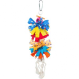 Prevue Pet Products - Prevue Bow Dangles Bird Toy - Assorted - Small
