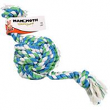 Mammoth Pet Products - Flossy Chews Monkey Fist Ball W/Rope Ends Dog Toy - Multicolored - 25 In / Colossal