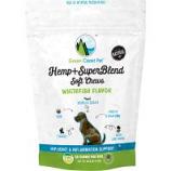 Green Coast Pet - Hemp+ Superblend Soft Chews For Dogs - Whitefish - 3 Oz