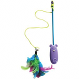Ethical Cat - Laser & Feather Teaser Wand Cat Toy