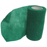 Animal Supplies International - Wrap-It-Up Flex Bandage - Green - 4 Inch x 5 Yard