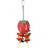 A&E Cage Company - Happy Beaks Strawberry Bird Toy - Small