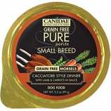 Canidae - Pure - Canidae Pure Petite Small Breed Morsel Wet Food - Lamb / Carrots - 3.5 Ounce