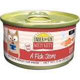 Canidae - Under The Sun - Under The Sun Witty Kitty A Fish Story Cat Food - Salmon - 3 Ounce